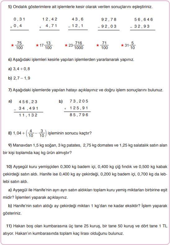 5 Sinif Matematik Ders Kitabi Cozumleri Ve Cevaplari Sayfa 144