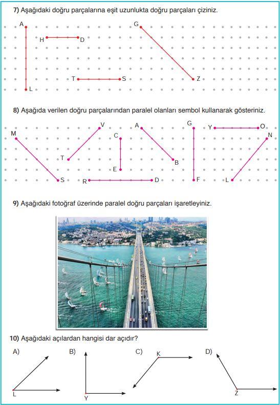5. Sınıf Matematik Ders Kitabı Çözümleri ve Cevapları Sayfa 210 SDR Dikey Yayınları