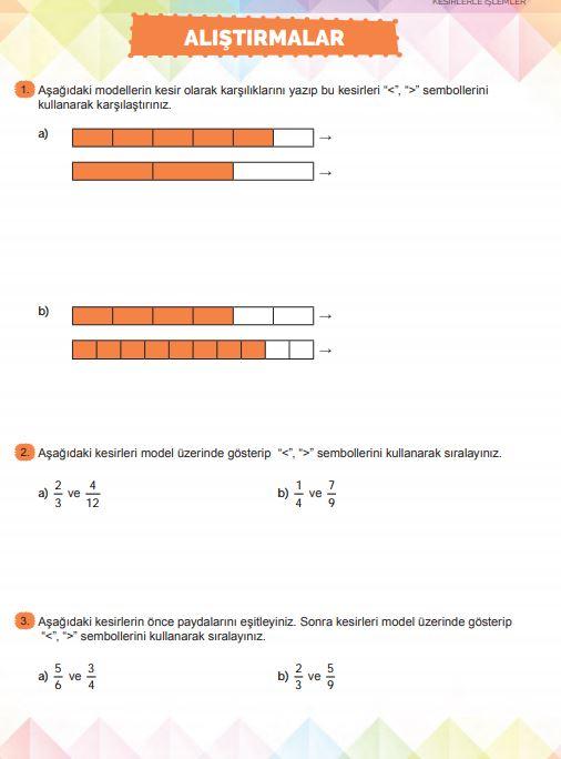 6. Sınıf Matematik Ders Kitabı Çözümleri ve Cevapları Sayfa 113 MEB Yayınları