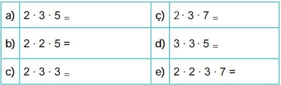 6. Sınıf Matematik Ders Kitabı Çözümleri ve Cevapları Sayfa 40-1 MEB Yayınları