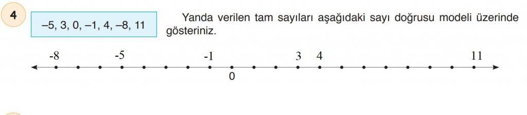 6. Sınıf Matematik Ders Kitabı Çözümleri ve Cevapları Sayfa 130-4 Öğün Yayınları