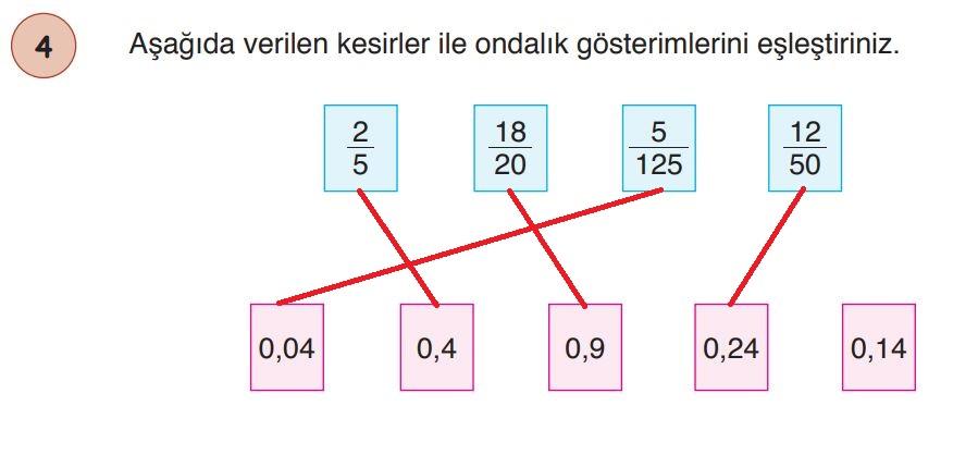6. Sınıf Matematik Ders Kitabı Çözümleri ve Cevapları Sayfa 143-4 Öğün Yayınları