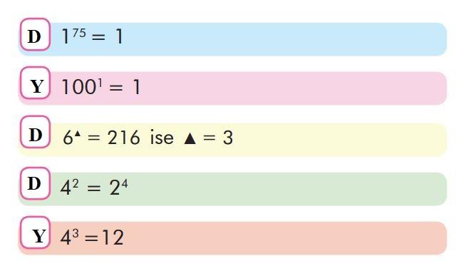 6. Sınıf Matematik Ders Kitabı Çözümleri ve Cevapları Sayfa 17-4 MEB Yayınları