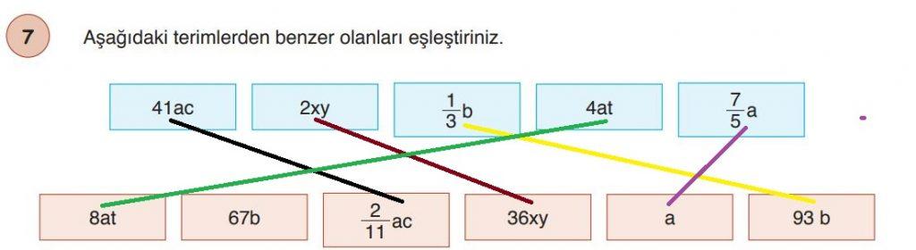 6. Sınıf Matematik Ders Kitabı Çözümleri ve Cevapları Sayfa 193-7 Öğün Yayınları