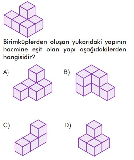 6. Sınıf Matematik Ders Kitabı Çözümleri ve Cevapları Sayfa 232-7 MEB Yayınları
