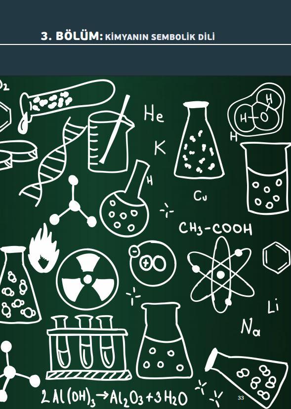 Meb Yayınları 9. Sınıf Kimya Ders Kitabı Çözümleri ve Cevapları Sayfa 33-1