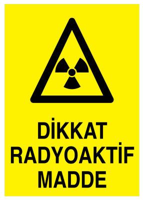 Radyoaktif Maddeler Piktogram