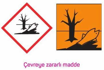 Çevreye Zararlı Maddeler Piktogram